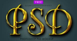 free Gold Layer Styles photoshop asl