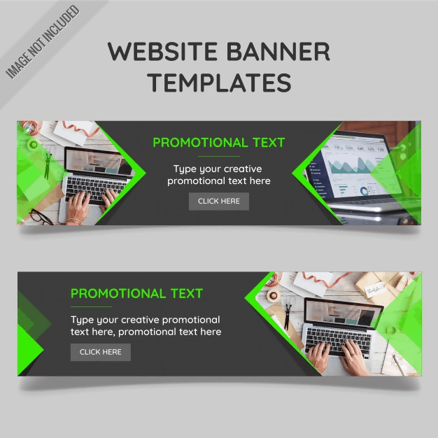Promotional Website Banner