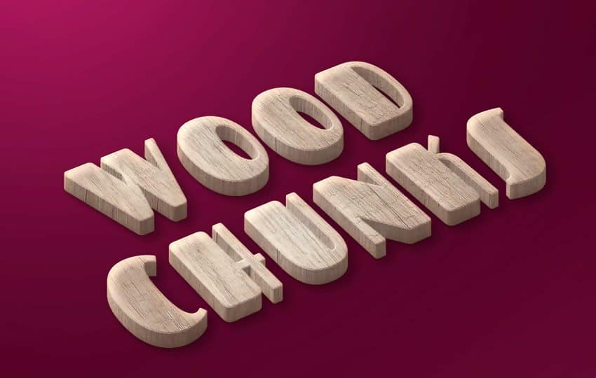 Free Woody Chunks Style