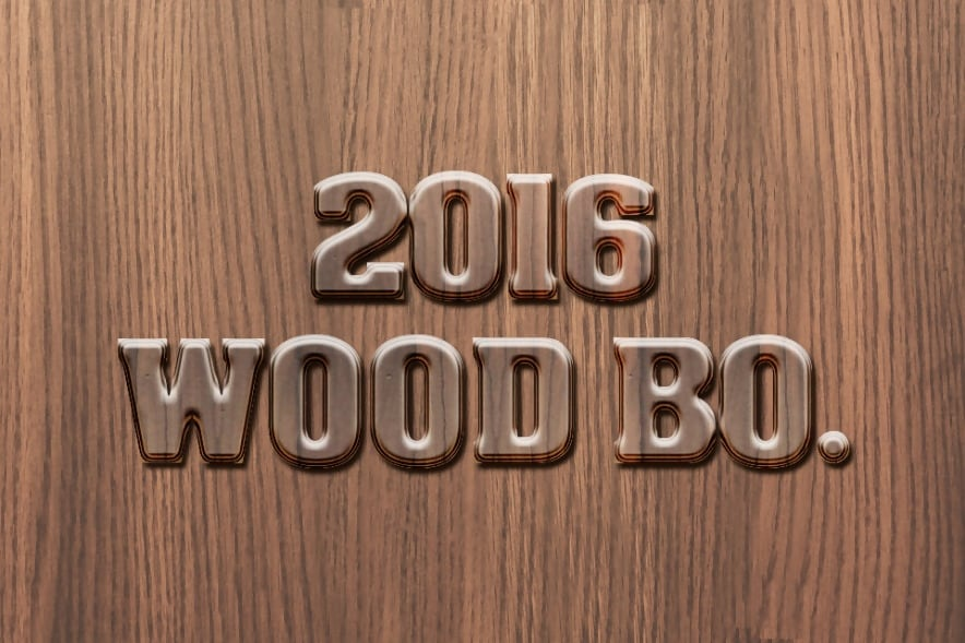 2016 Wood PSD Layer Style
