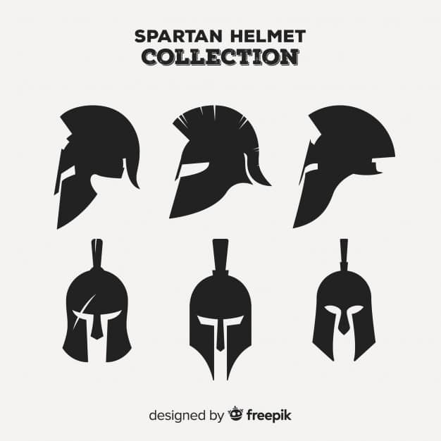 Collection of Spartan Helmets