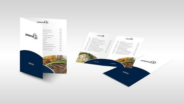 Palomino Menu Template