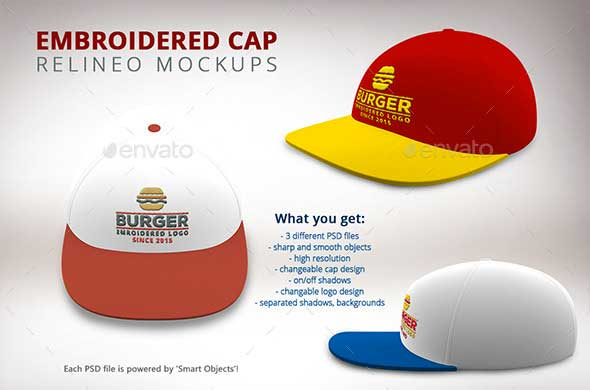 Cap PSD Mock-up Pack