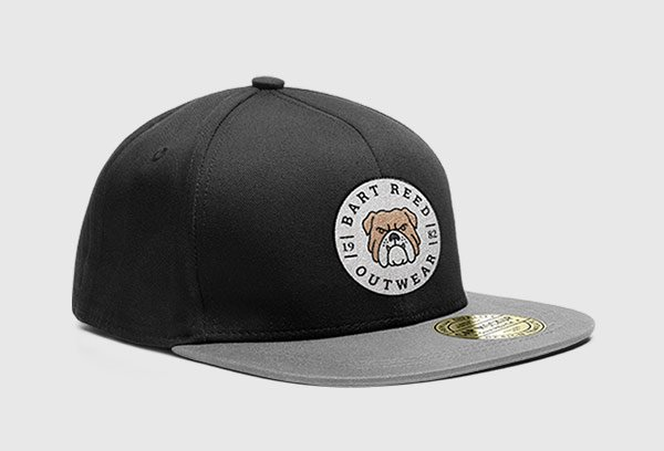 Free Snapback Cap PSD Mockup with 7 Colors