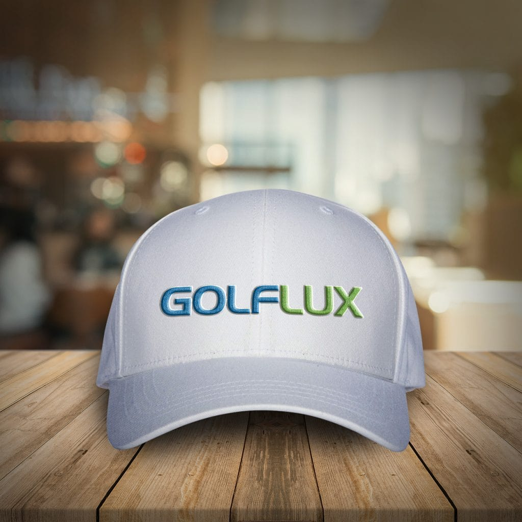 Free Golf Cap/Hat Mockup PSD with Woven Logo