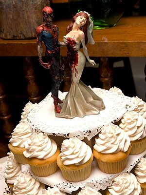Marvel Zombies Wedding Cake