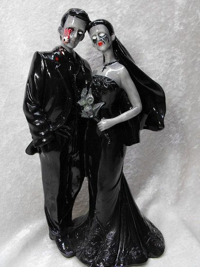Movie Couple Wedding Cake Topper
