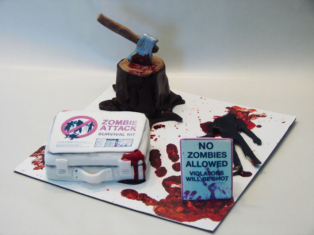 Zombie Attack Cakelets