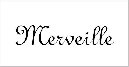 Merveille – Free Embroidery Fonts