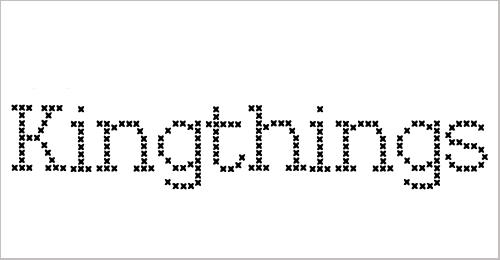 Kingthings Xstitch Font