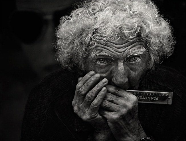 Harmonica Man By Andre du Plessis FRPS