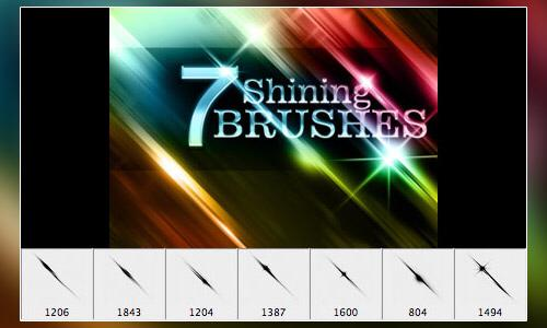 Shining Sword Brushes