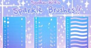 free sparkle photoshop brushes