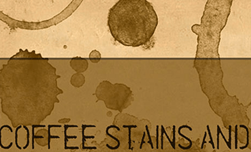 Coffee Stains and Splashes