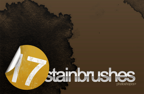 17 Coffee Stain Brushes