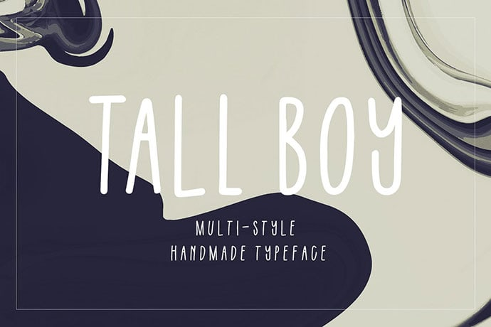 Tall Boy Handwriting Font