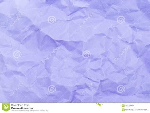 Pastel Purple Colour Crumpled Paper
