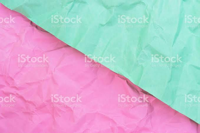 Crumpled Paper Turquoise and Pink Pastel Colours