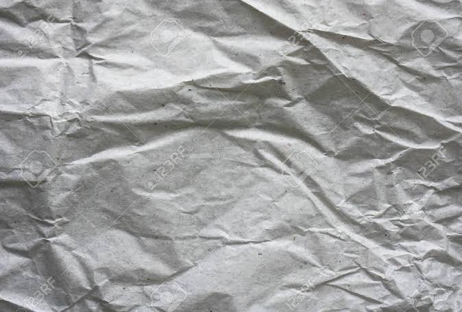 Abstract Texture of Grey Crumpled Paper