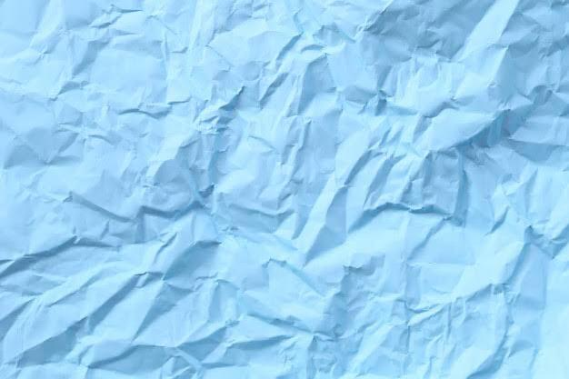 Blue Artic Colour of Wrinkled Paper